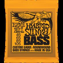 Ernie Ball Hybrid Slinky .045 - .105 Nickel Wound Bass Guitar Strings