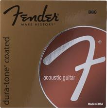 Fender 880CL Custom Light .011 - .052 Coated 80/20 Bronze Acoustic Guitar Strings