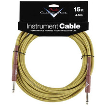 Fender Custom Shop Tweed Performance Series Instrument Cable - 15ft