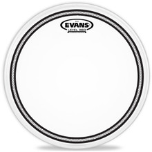 "Evans EC2S Frosted Drum Head - 12"""