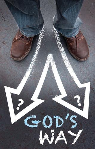 God's Way Chalk Arrows