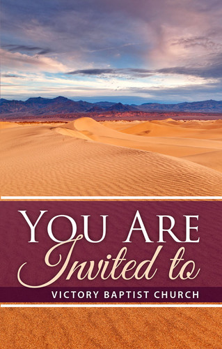 You Are Invited Desert Scene