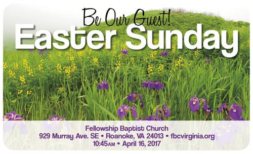 Gospel Card Field & Flowers