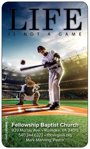 Gospel Card Baseball