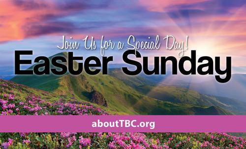 Church Invite Card Mountain