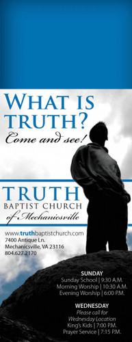 What is Truth? Door Hanger