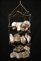 Triangle Curly Vine Chime