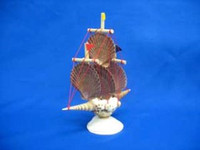 Shell Sailboat with Flats