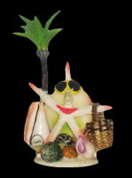 White Finger Star with Basket Novelty