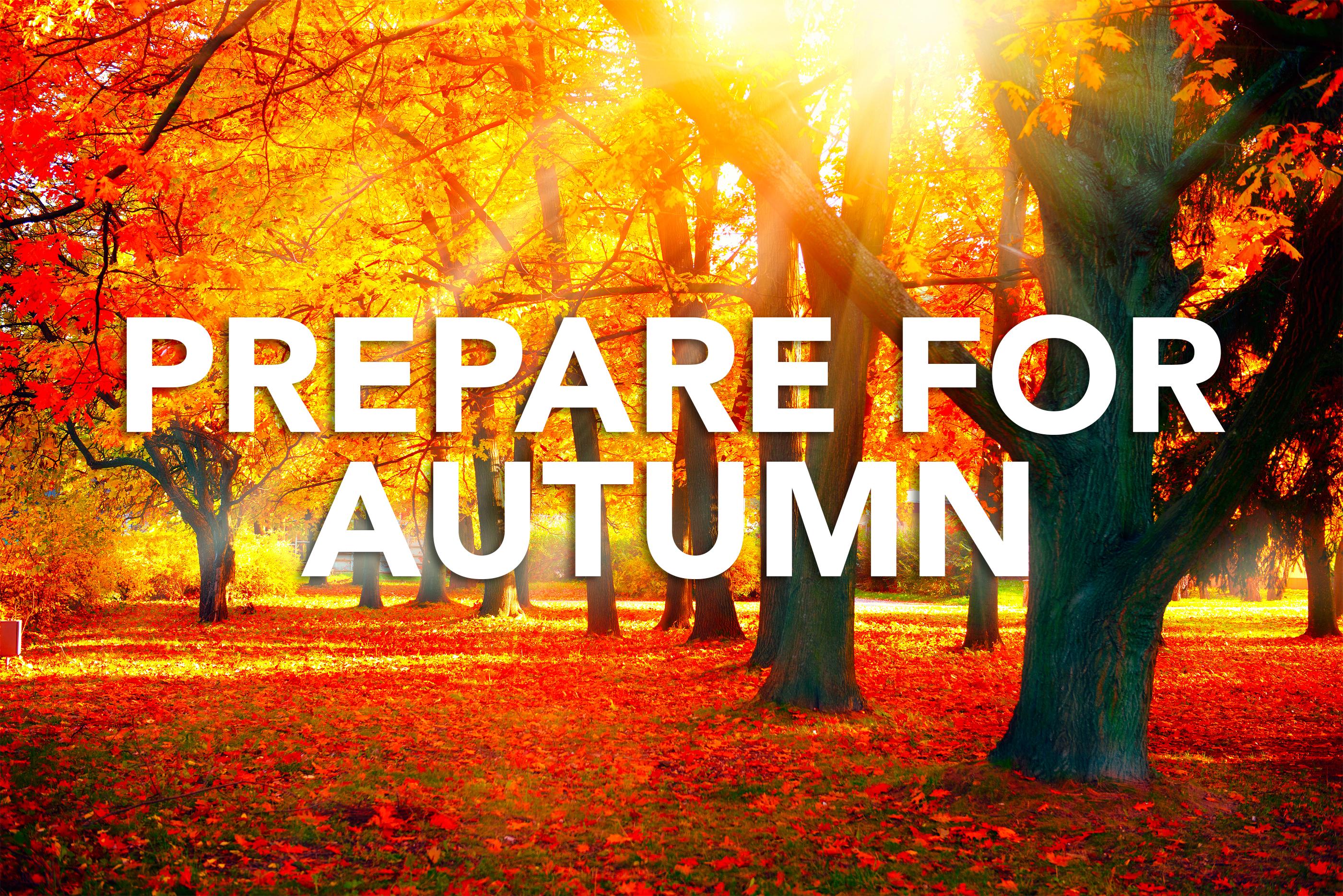Prepare for Autumn