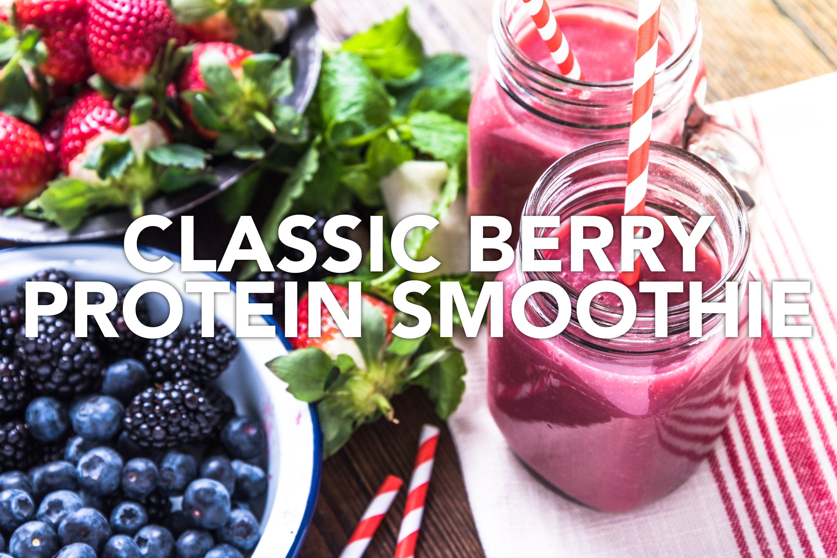 Classic Berry Protein Smoothie
