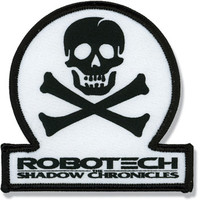 Robotech the Shadow Chronicles: Skull Squadron Emblem Anime Patch