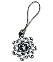 Soul Eater: Shinigami-sama Snowflake Cell Phone Charm