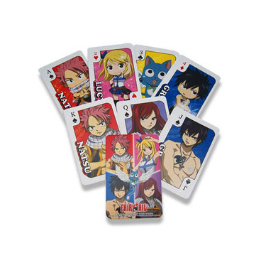Fairy Tail Anime Playing Cards
