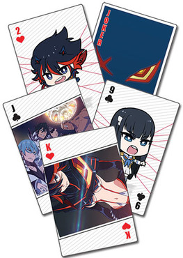 Kill la Kill Anime Playing Cards