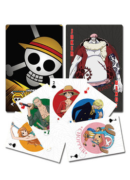 One Piece New World Playing Cards