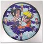 Naruto Shippuden: Chibi Naruto vs Sasuke Wall Clock