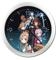 Sword Art Online: Group Wall Clock