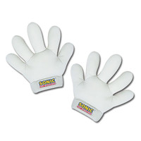 Sonic the Hedgehog: Sonic White Stuffed Plush Gloves