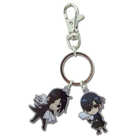 Black Butler: Chibi Sebastian and Ciel Metal Key Chain