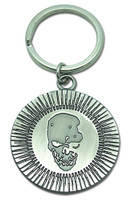 Death Note: Skull Icon Metal Key Chain