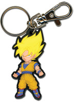 Dragon Ball Z: SD Super Saiyan Goku Key Chain