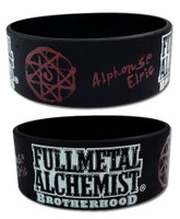FullMetal Alchemist Brotherhood: Alphonse Elric Blood Seal Wristband