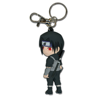 Naruto: Chibi Itachi Anbu Fighting Gear PVC Key Chain
