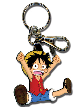 One Piece: Chibi SD Luffy Key Chain