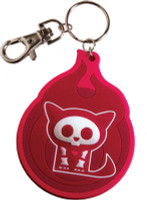 Skelanimals: Cute as Hell Kit the Cat Vinyl Key Chain