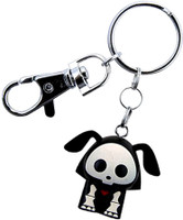 Skelanimals: Dax the Dog Key Chain