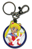 Sailor Moon: Sailor Moon Holding Moon Stick PVC Key Chain