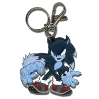Sonic The Hedgehog: Werehog PVC Key Chain