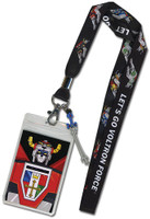 Voltron: Voltron Force Lanyard with ID Holder and Charm