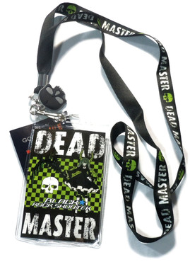 Black Rock Shooter: Dead Master Lanyard with ID Holder and Charm