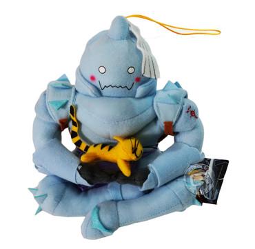Fullmetal Alchemist: Alphonse (Al Elric) Sitting Holding Kitty Plush