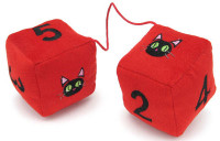 Trigun: Kuroneko Plush Dice Danglers