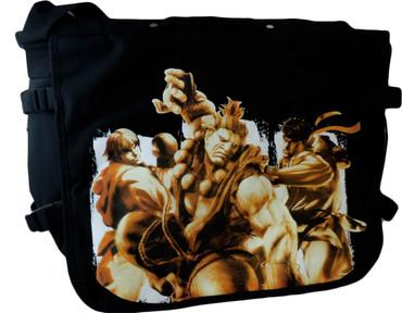 Street Fighter IV: Ken, Akuma, and Ryu Messenger Bag