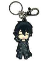 Sword Art Online: Chibi Kirito Happy PVC Key Chain