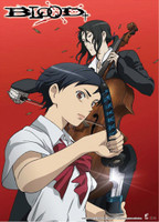 Blood+: Saya with Sword & Hagi with Cello Anime Wall Scroll