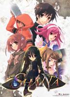Shana (Shakugan no Shana): Group Anime Wall Scroll