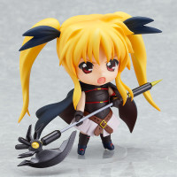 Lyrical Nanoha: Fate Testarossa The Movie 1st Ver. Nendoroid Figure