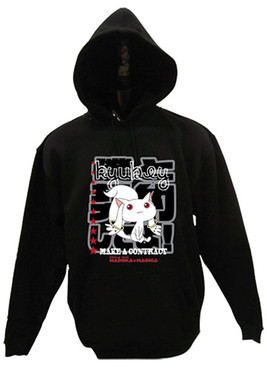 Puella Magi Madoka Magica: Kyubey Make a Contract Hoodie