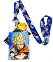 Edit a Product - Dragon Ball Z: Group Image Lanyard with ID Holder and Charm