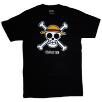 One Piece: Jolly Roger Straw Hat Crew Men's T-Shirt