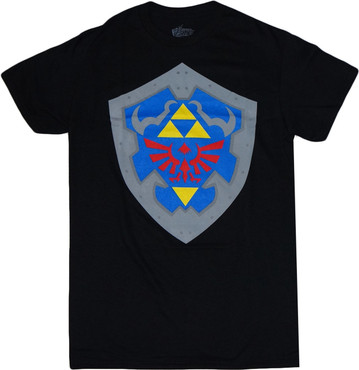The Legend of Zelda Ocarina of Time: Hylian Shield T-Shirt