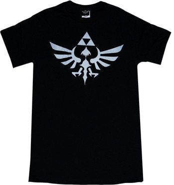 The Legend of Zelda: Triumphant Triforce Men's Black T-Shirt