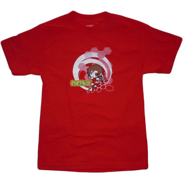 Vocaloid: Chibi Meiko Men's Red T-Shirt