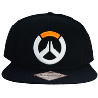 Overwatch Game Logo Snapback Cap Hat