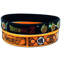 Dragon Ball Z: Seven Dragon Balls PVC Wristband Set of 2